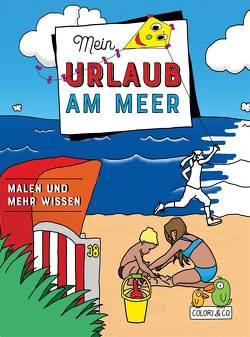 Mein Urlaub am Meer Malbuch von Colori & Co.