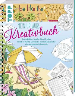 Mein Urlaubs-Kreativbuch von Pitz,  Natascha