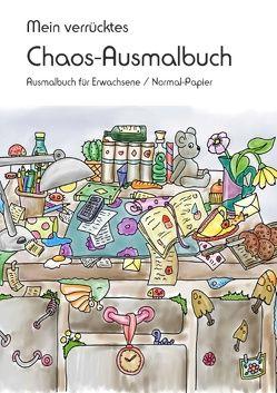 Mein verrücktes Chaos-Ausmalbuch von Langenkamp,  Heike