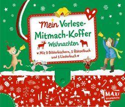 Mein Vorlese-Mitmach-Koffer. Weihnachten von Henn,  Astrid, Jäger,  Katja, Munck GbR,  Hedwig + Andreas, Niessen,  Susan, Plikat,  Ari, Wagner,  Charlotte
