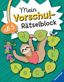 Mein Vorschul-Rätselblock von Dölling,  Andrea, Penner,  Angelika, Schrank,  Oliver
