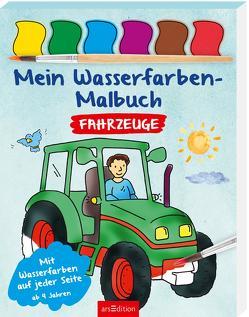 Mein Wasserfarben-Malbuch Fahrzeuge von Beurenmeister,  Corina