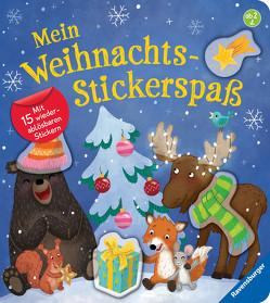 Mein Weihnachts-Stickerspaß von Faust,  Christine, Penners,  Bernd