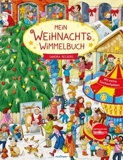 Mein Weihnachts-Wimmelbuch von Reckers,  Sandra