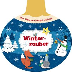 Mein Weihnachtskugel-Malbuch: Winterzauber von Legien,  Sabine