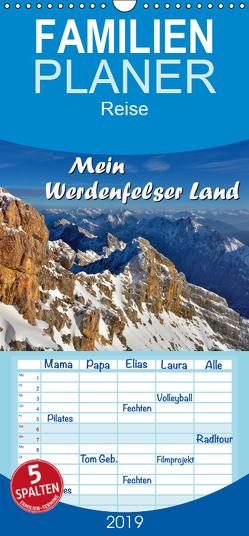 Mein Werdenfelser Land – Familienplaner hoch (Wandkalender 2019 , 21 cm x 45 cm, hoch) von Wilczek,  Dieter-M.