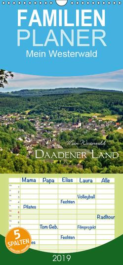 Mein Westerwald – Daadener Land – Familienplaner hoch (Wandkalender 2019 , 21 cm x 45 cm, hoch) von Schaefgen,  Matthias