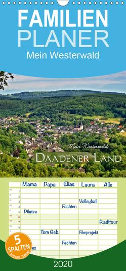 Mein Westerwald – Daadener Land – Familienplaner hoch (Wandkalender 2020 , 21 cm x 45 cm, hoch) von Schaefgen,  Matthias