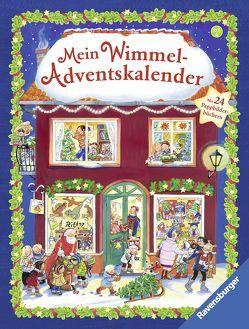 Mein Wimmel-Adventskalender von Davidovic,  Zora, Diverse