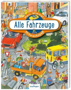 Mein Wimmel-Mitmachspaß: Alle Fahrzeuge von Wandrey,  Guido