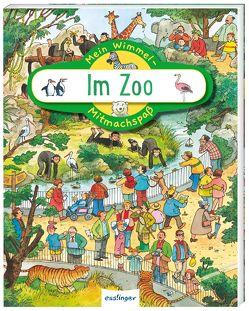Mein Wimmel-Mitmachspaß: Im Zoo von Wandrey,  Guido
