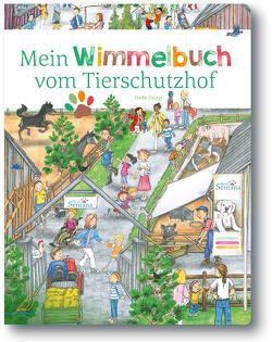Mein Wimmelbuch vom Tierschutzhof von Georgi,  Heike