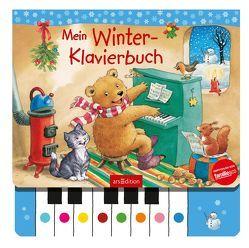 Mein Winter-Klavierbuch von Scharff-Kniemeyer,  Marlis