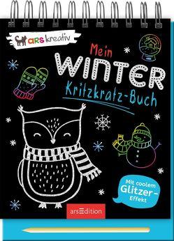 Mein Winter-Kritzkratz-Buch