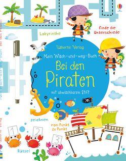 Mein Wisch-und-weg-Buch: Bei den Piraten von Florino,  Dania, Robson,  Kirsteen