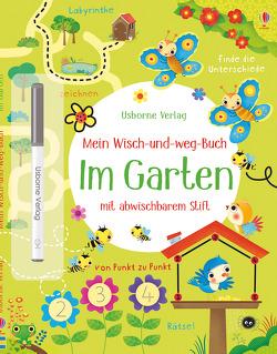 Mein Wisch-und-weg-Buch: Im Garten von Florino,  Dania, Robson,  Kirsteen