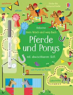 Mein Wisch-und-weg-Buch: Pferde und Ponys von Caprini,  Manola, Robson,  Kirsteen