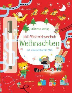 Mein Wisch-und-weg-Buch: Weihnachten von Florino,  Dania, Robson,  Kirsteen