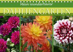 Mein wunderbarer Dahliengarten (Tischkalender 2018 DIN A5 quer) von B-B Müller,  Christine