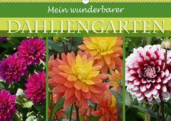 Mein wunderbarer Dahliengarten (Wandkalender 2018 DIN A3 quer) von B-B Müller,  Christine