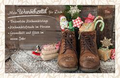 Mein Wunschzettel für Dich: Besinnliche Weihnachtstage, Weihnachtsfreude im Herzen, Gesundheit und Glück im neuen Jahr von Engeln,  Reinhard
