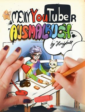 Mein YouTuber Ausmalbuch von Honeyball