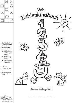 Mein Zahlenlandbuch 1 von Janzer,  Monika, Preiss,  Gerhard