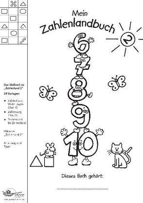 Mein Zahlenlandbuch 2 von Janzer,  Monika, Preiss,  Gerhard