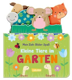 Mein Zieh-Bilder-Spaß: Kleine Tiere im Garten von Hofmann,  Julia, McDonough,  Amanda