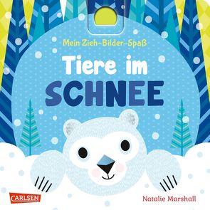 Mein Zieh-Bilder-Spaß: Tiere im Schnee von Hofmann,  Julia, Marshall,  Natalie