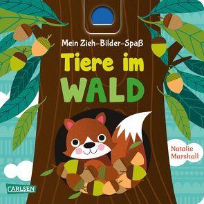 Mein Zieh-Bilder-Spaß: Tiere im Wald von Hofmann,  Julia, Marshall,  Natalie