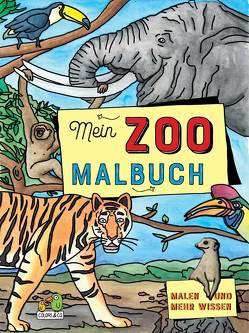 Mein Zoo Malbuch von Colori & Co.
