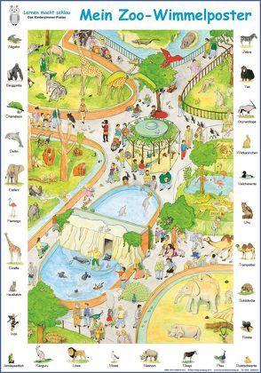 Mein Zoo-Wimmelposter