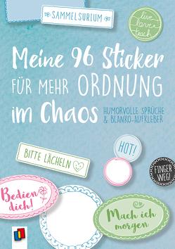 """Meine 96 Sticker für mehr Ordnung im Chaos """"live – love – teach"""" – Humorvolle Sprüche und Blanko-Aufkleber von Redaktionsteam Verlag an der Ruhr"""