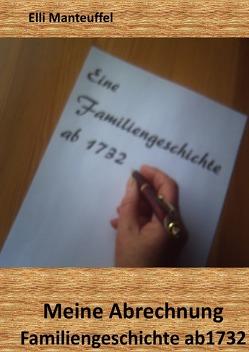 Meine Abrechnung von Manteuffel,  Elli