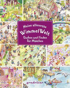 Meine allererste WimmelWelt – Suchen und finden für Mädchen von Bartl,  Ulla, Leiber,  Lila L.