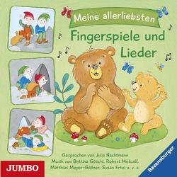 Meine allerliebsten Fingerspiele und Lieder von Diverse, Goeschl,  Bettina, Metcalf,  Robert, Meyer-Göllner,  Matthias, Nachtmann,  Julia