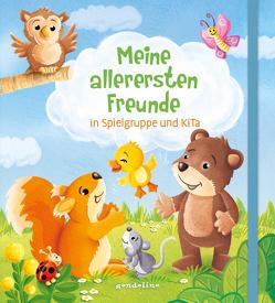 Meine allerersten Freunde in Spielgruppe und KiTa (Eichhörnchen) – Freundebuch ab 18 Monate von Lohr,  Stefan
