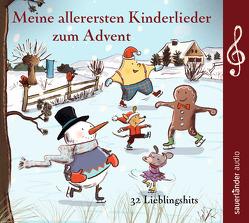 Meine allerersten Kinderlieder zum Advent von Hoffmann,  Klaus W., Kohlhepp,  Bernd, Neuhaus,  Klaus, Puschban,  Suli, Reinig,  Paul, Steier,  Ulrich, Treyz,  Jürgen, Vahle,  Fredrik