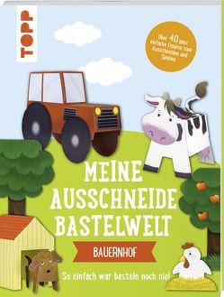 Meine Ausschneide-Bastelwelt: Bauernhof von frechverlag