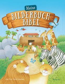 Meine Bilderbuch-Bibel von Hinrichsens,  Natalie, Woolf,  Alex