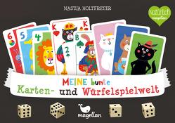 Meine bunte Karten- und Würfelspielwelt von Holtfreter,  Nastja