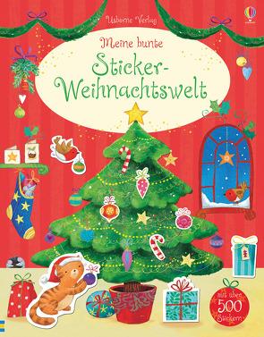 Meine bunte Sticker-Weihnachtswelt von Gausden,  Vicki, Greenwell,  Jessica, Jatkowska,  Ag, Lamb,  Stacey, Maclaine,  James, Taplin,  Sam