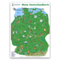 Meine Deutschlandkarte von Haurand,  Chiara, Momm,  Helga