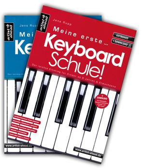 Meine erste Keyboardschule & Meine zweite Keyboardschule im Set! von Rupp,  Jens