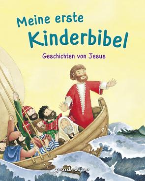 Meine erste Kinderbibel – Geschichten von Jesus. Als Geschenkbuch für Kinder, im Kindergottesdienst oder im Religionsunterricht. von Droop,  Constanza, Krenzer,  Rolf