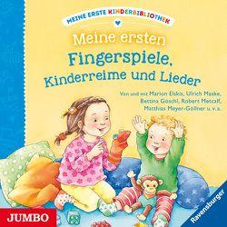Meine erste Kinderbibliothek. Meine ersten Fingerspiele, Kinderreime und Lieder von Elskis,  Marion, Maske,  Ulrich, Missler,  Robert, u.v.a.