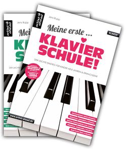 Meine erste Klavierschule & Meine zweite Klavierschule im Set! von Rupp,  Jens