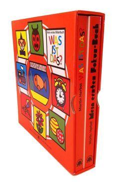 """Meine ersten Bilderbücher: Mein erstes Fokusbuch – Baby lernt sehen & Mein erstes Bilderbuch """"WAS IST DAS?"""", 2. Bde. von Herbst,  Martin"""