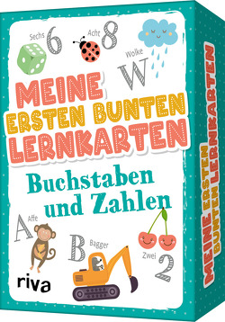 Meine ersten bunten Lernkarten – Buchstaben und Zahlen